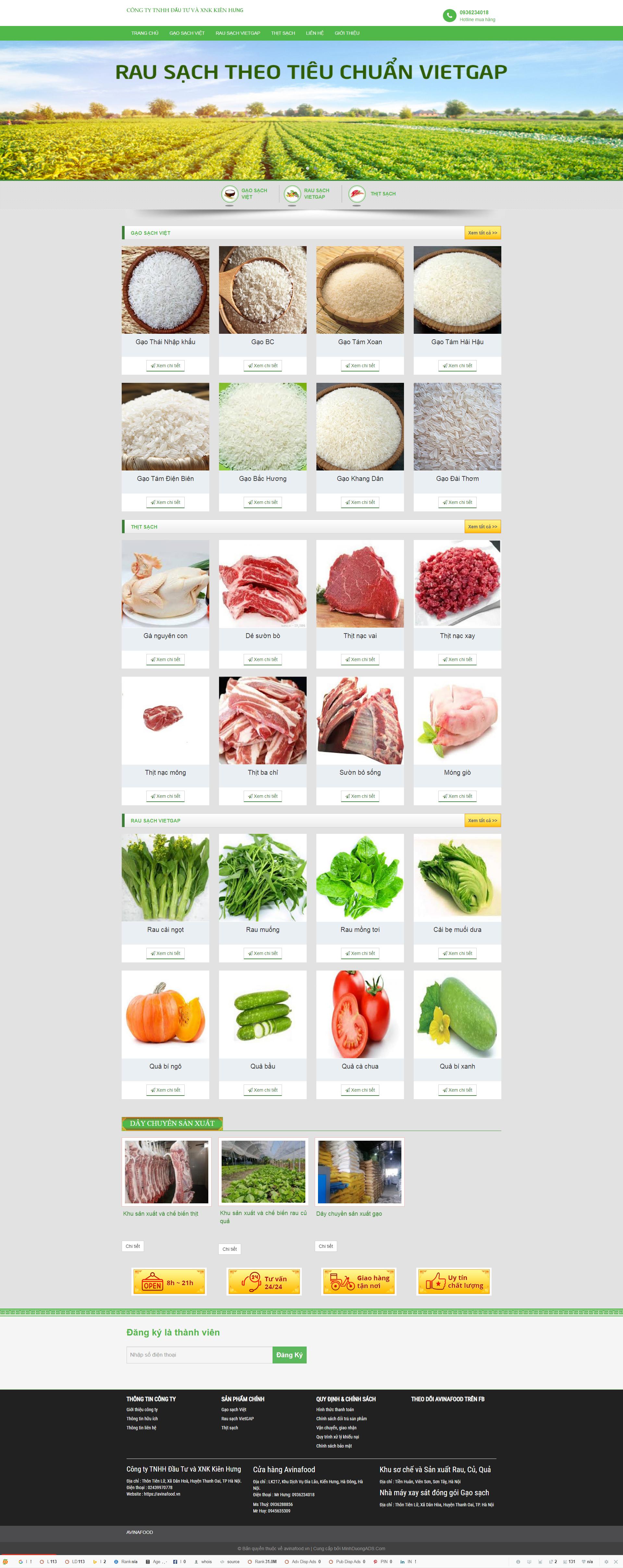 Web avinafood