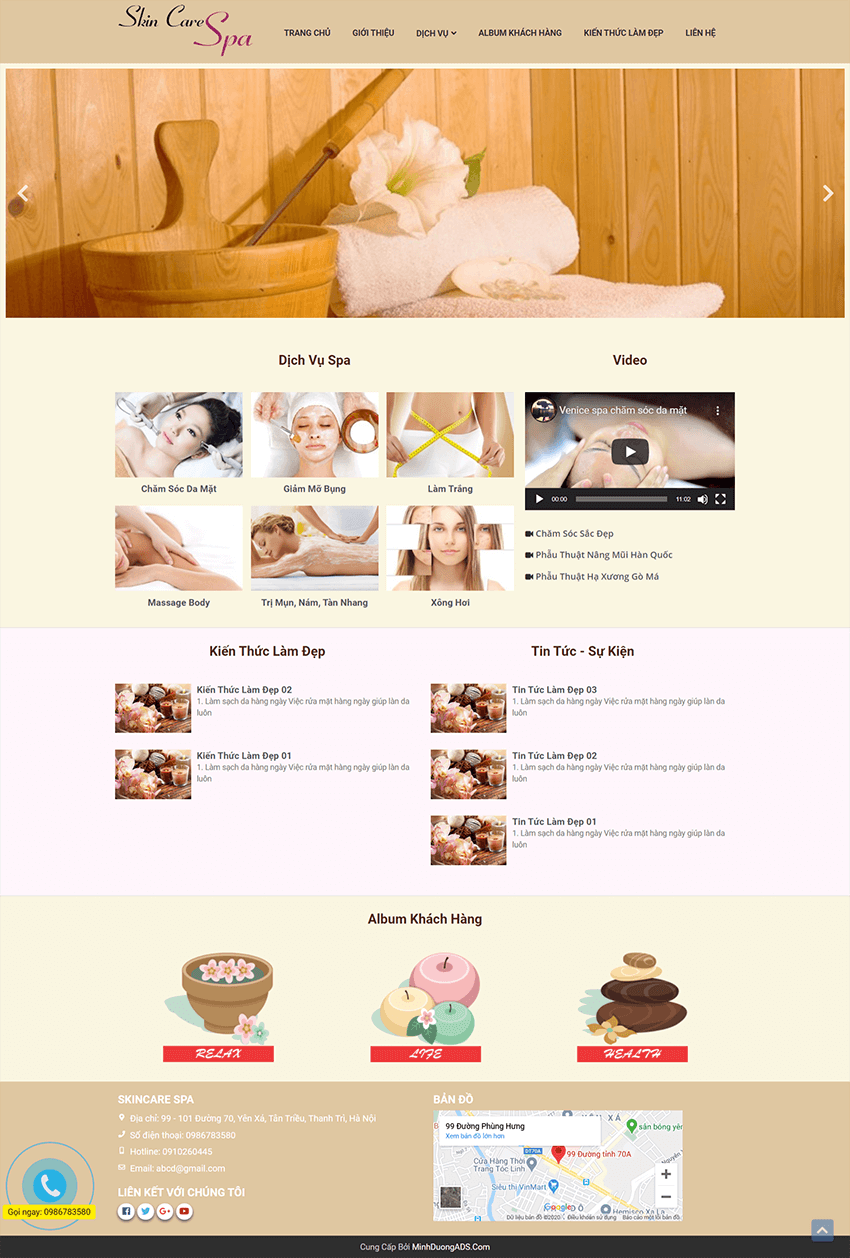 Web spa SkinCare